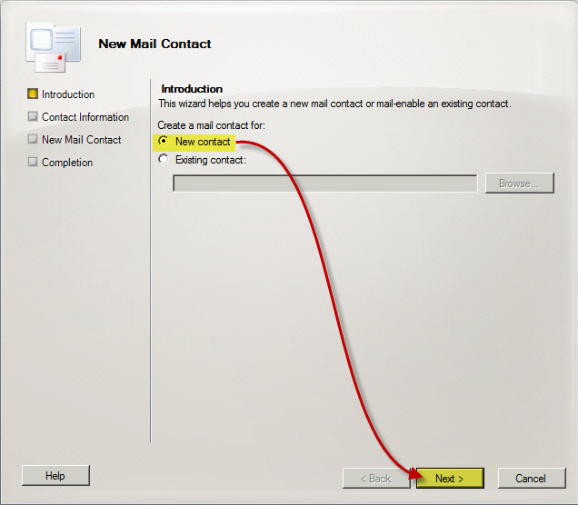 Add External Email Address to a Distribution List