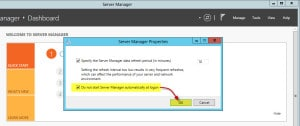 Disable Windows Server Manager C