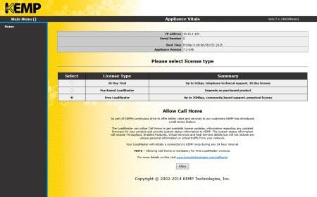 Free Kemp Layer-7 Virtual Load Balancer