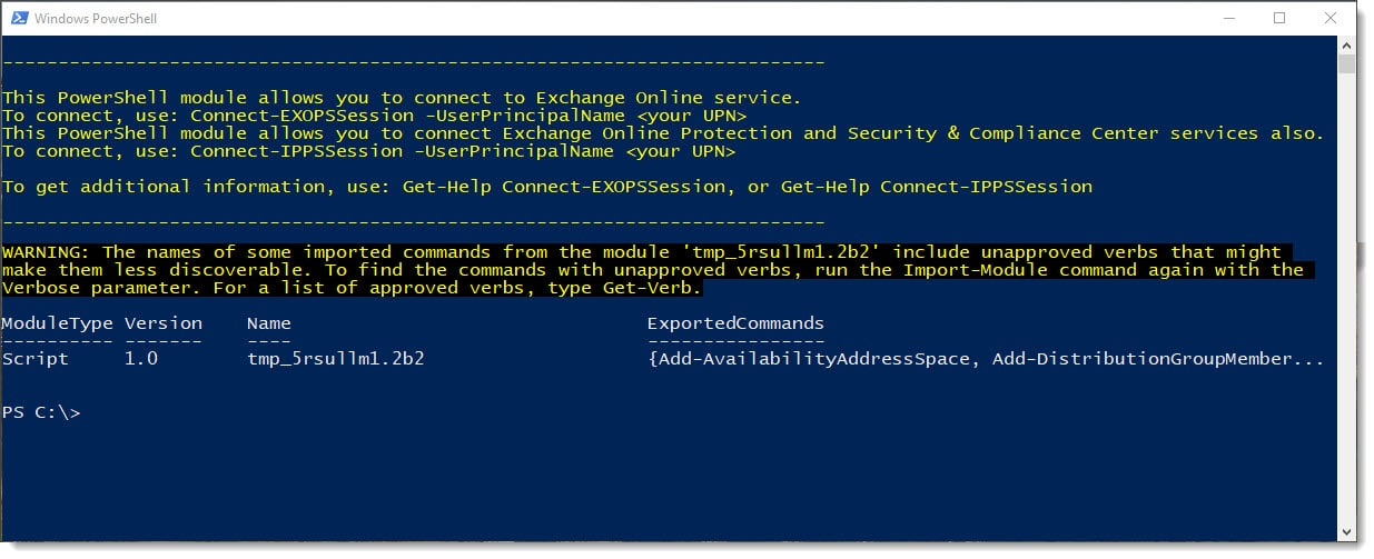 Easily Connect to Exchange Online with PowerShell