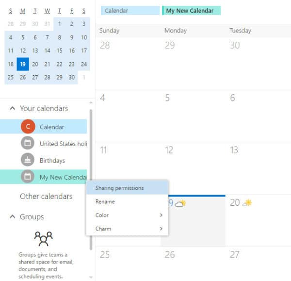Outlook on the web OWA can not delete calendar
