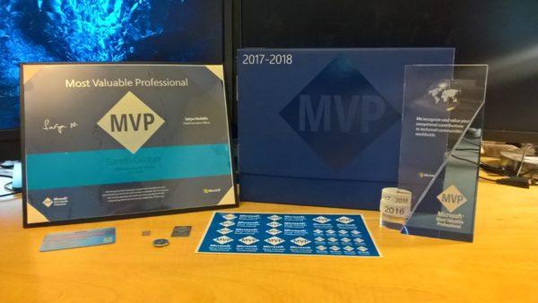 MVP Award Gareth Gudger