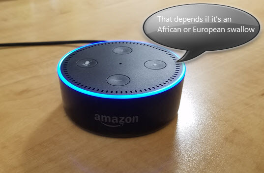 131 funny, geeky and creepy questions to ask Alexa