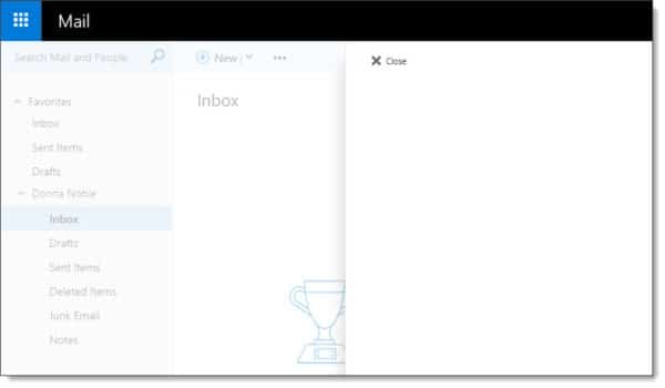 Outlook Web App - Manage Add-Ins is blank