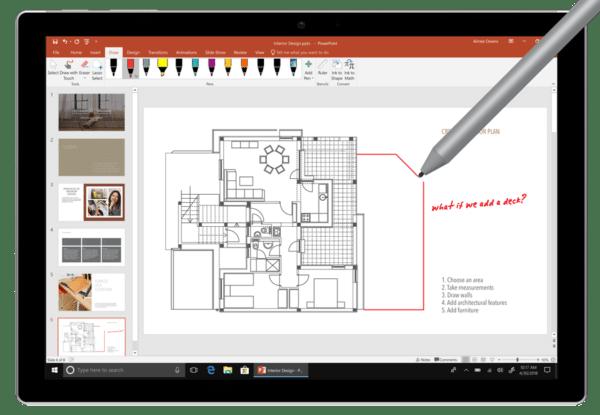 PowerPoint 2019 (photo courtesy Microsoft)