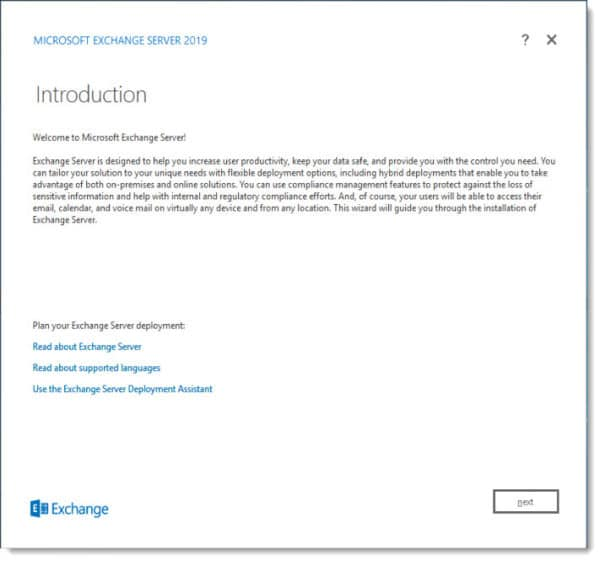 update for Exchange 2019 as well