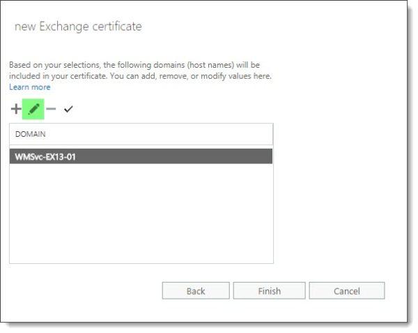 Recreate the WMSvc certificate E